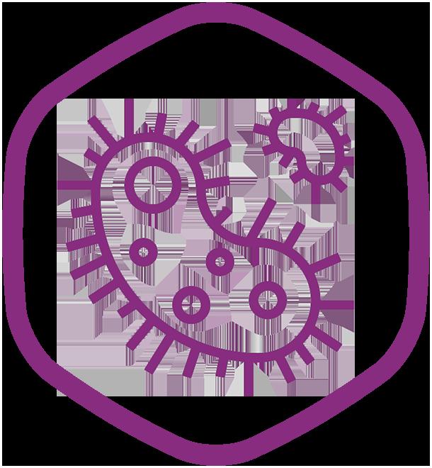 Дезинфекция вирусов и бактерий